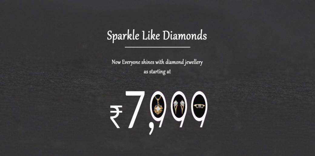 Sparkle like diamonds jewellery