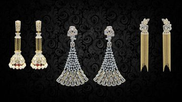 bridal diamond earrings