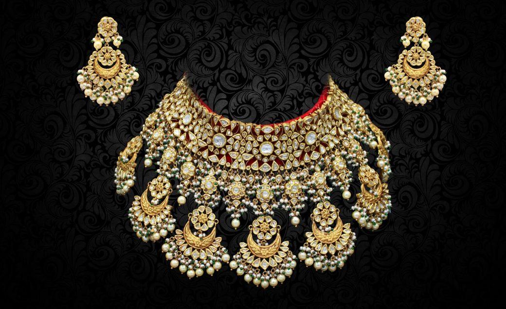 Bridal_UNcut_Polki_Diamond_Set
